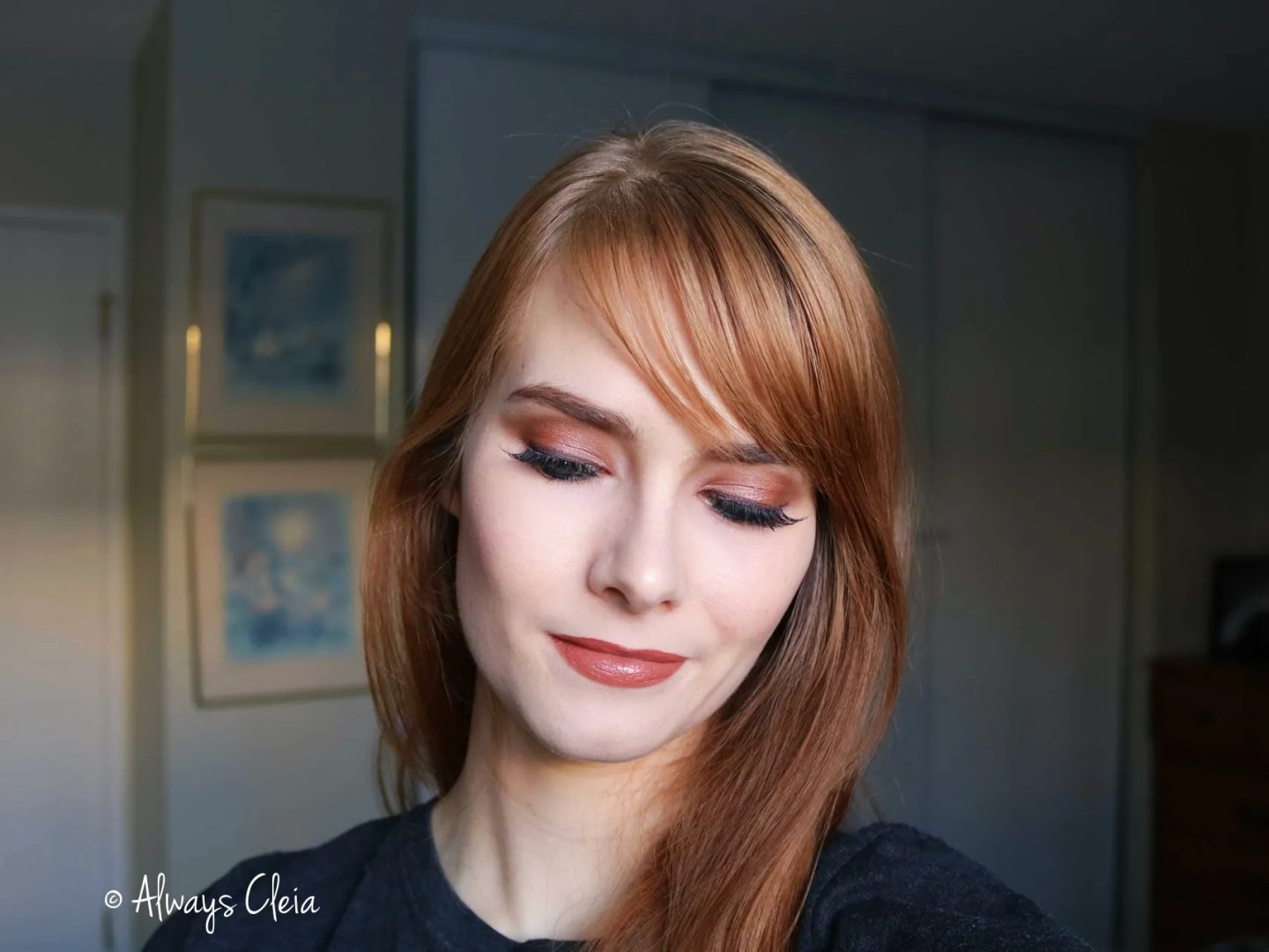 Copper Natural Beauty Makeup Look