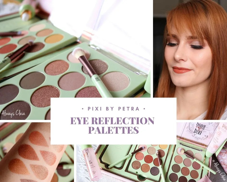 Pixi Beauty Eye Reflections Eyeshadow Palette Review, Swatches & 3 Looks