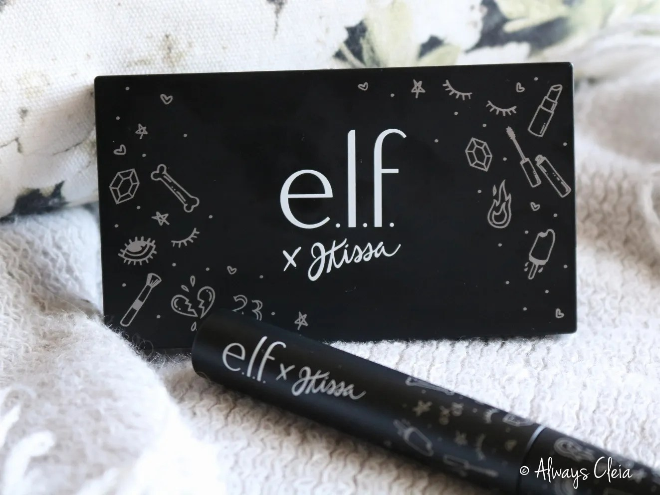 elf JKISSA Palette & Mascara Review