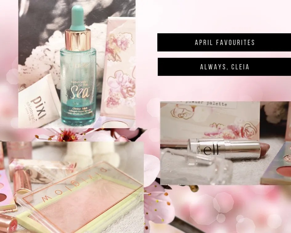 April Favorites | Beauty Products