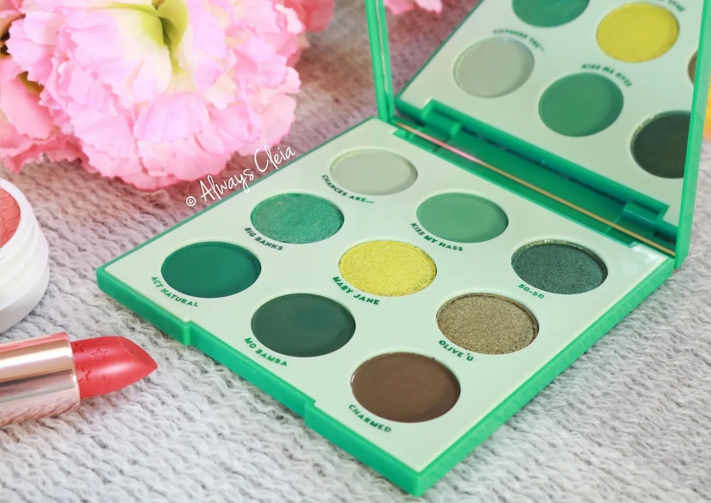 ColourPop Just My Luck Palette Review