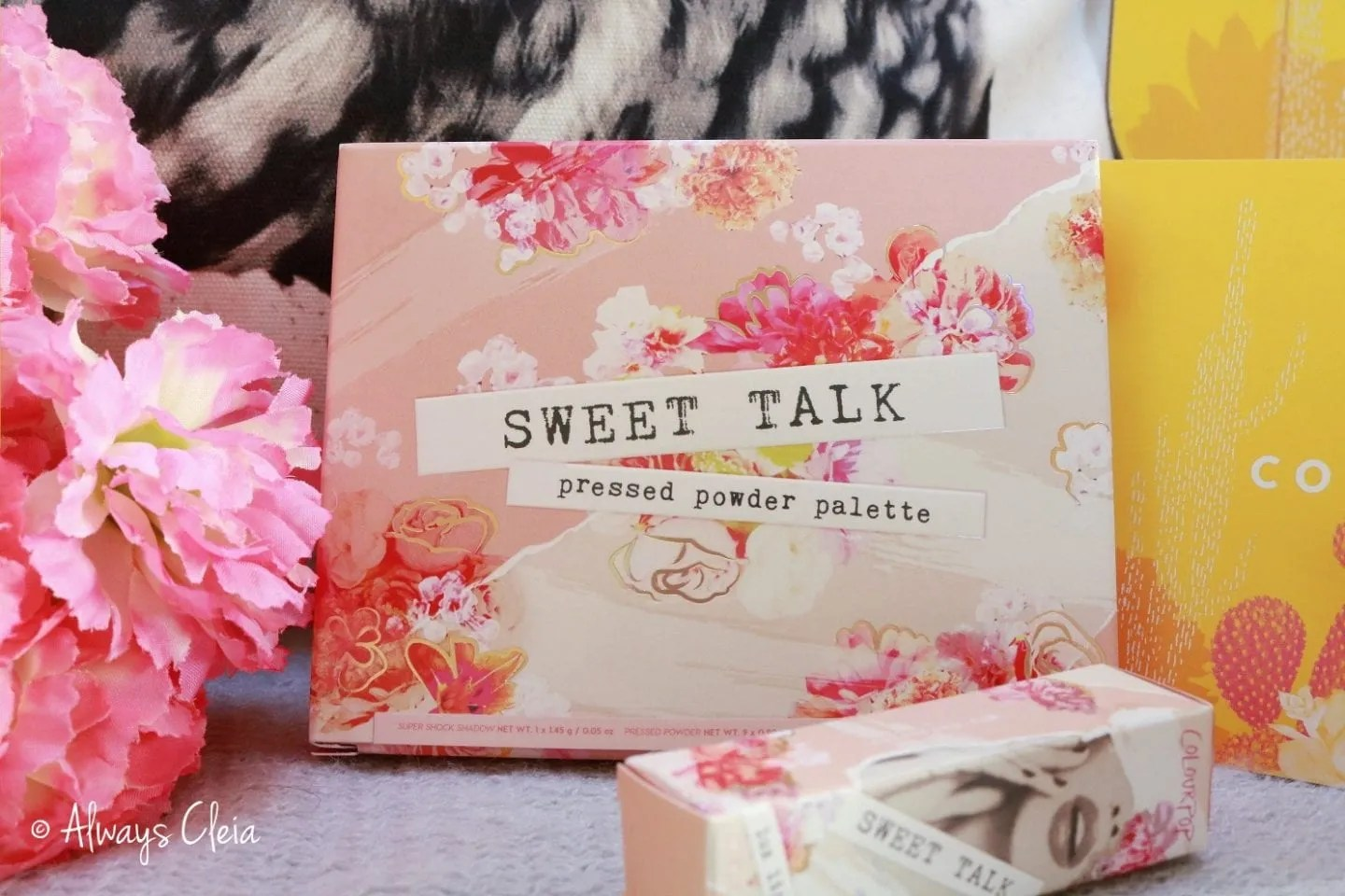 ColourPop Sweet Talk Palette Packaging