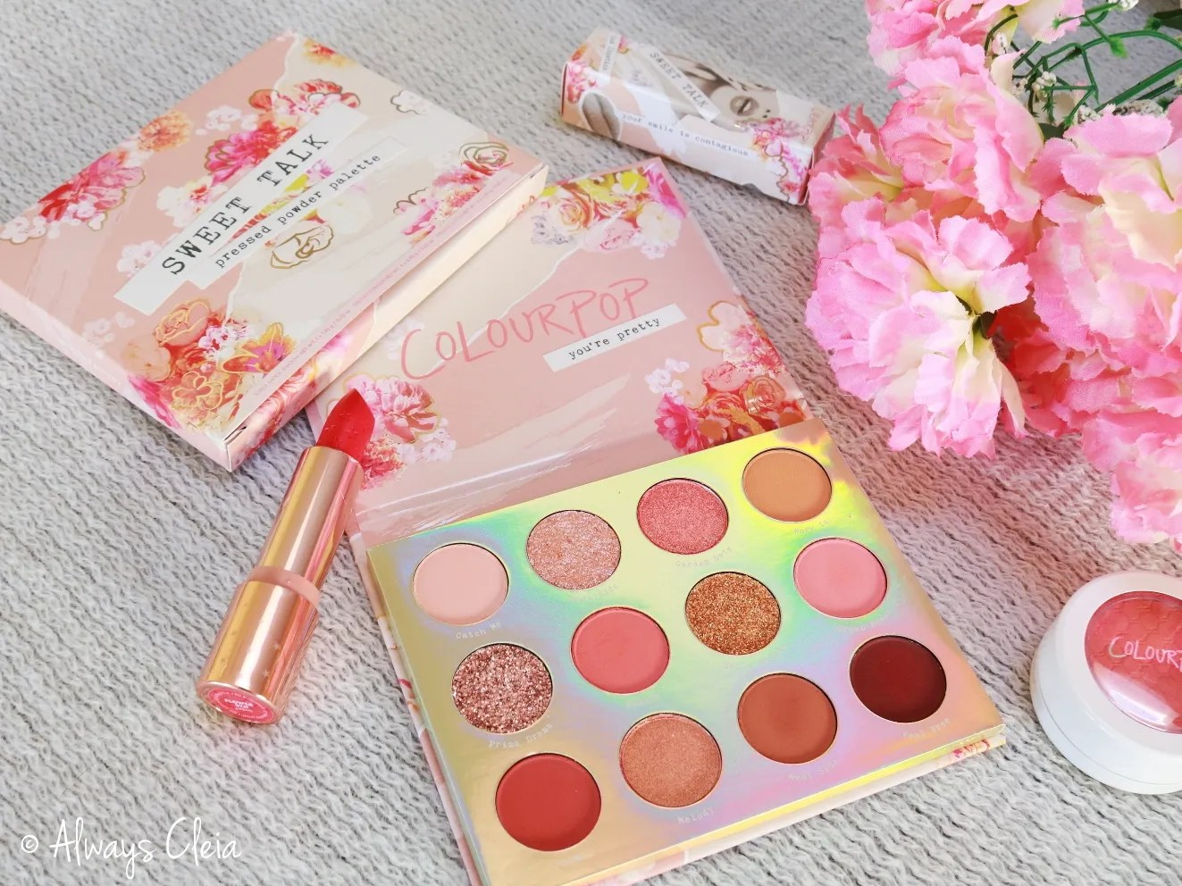 ColourPop Sweet Talk Palette Review