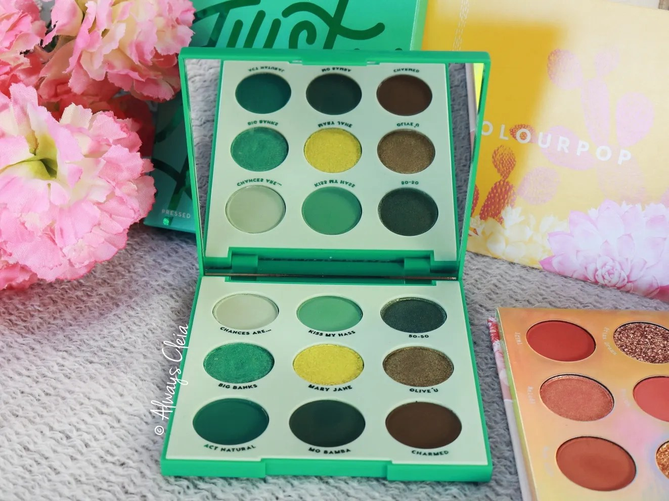 Just My Luck Palette Review