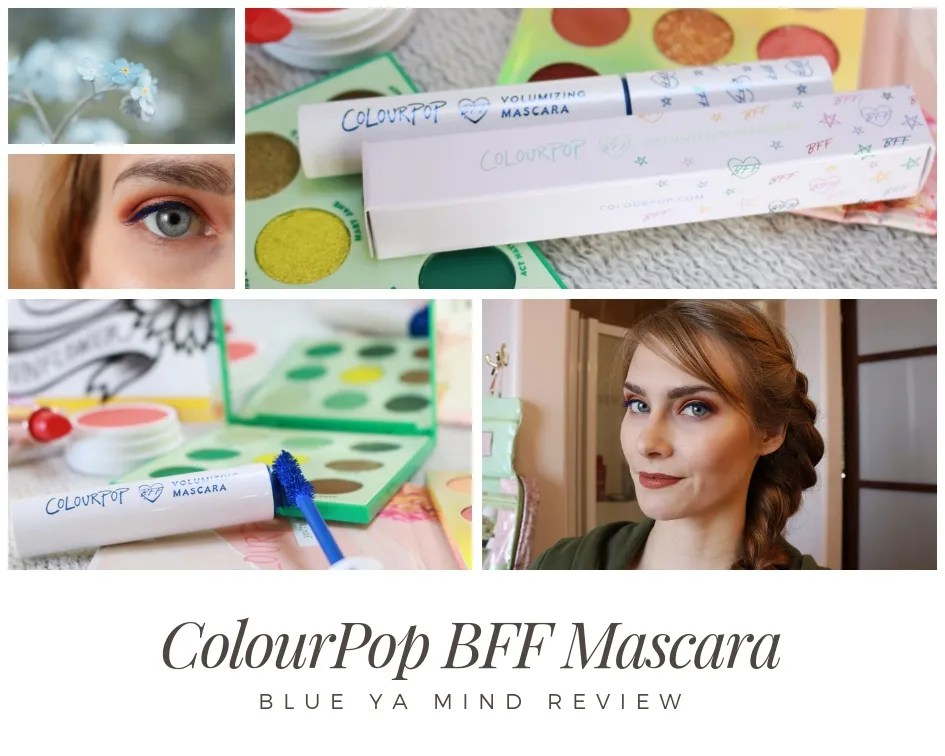 ColourPop BFF Mascara Review in Blue Ya Mind