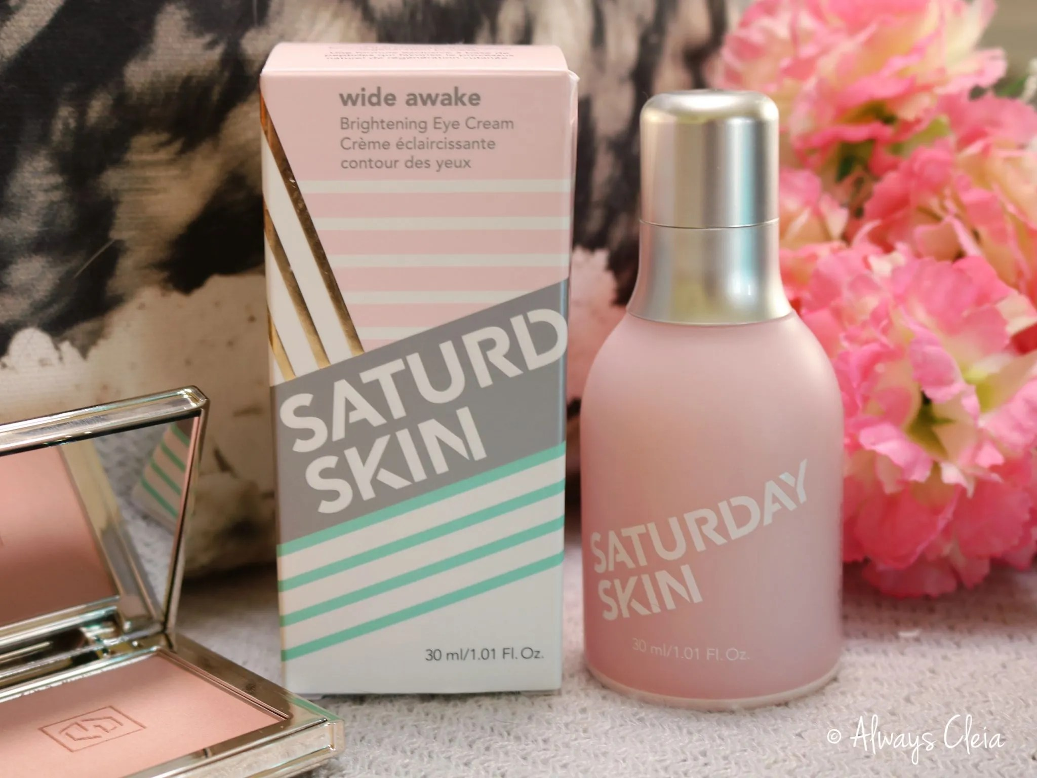 Wide Awake Brightening Eye Cream Saturday Skin