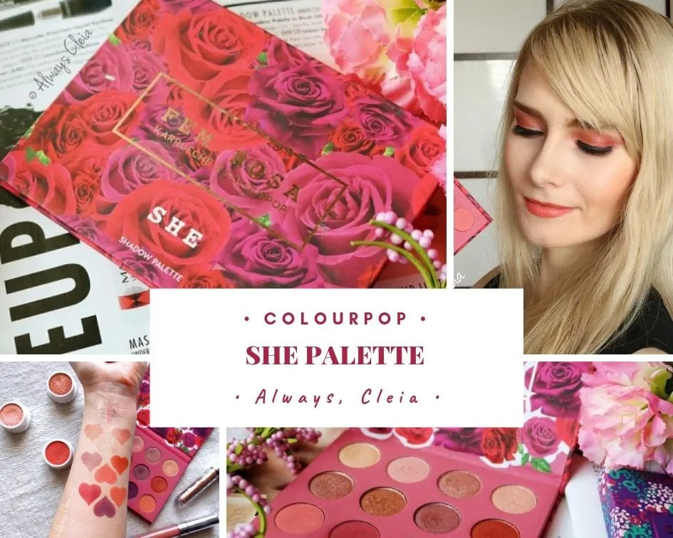 ColourPop She Palette Review + Swatches + 3 Looks