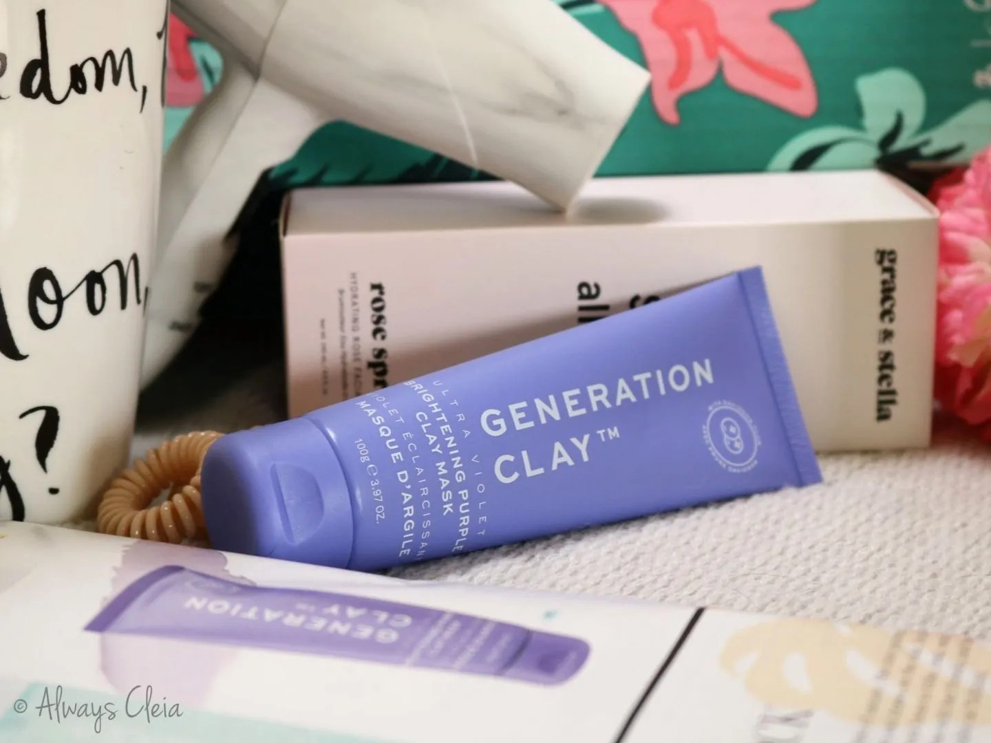 Generation Clay Violet Brightening Face Mask