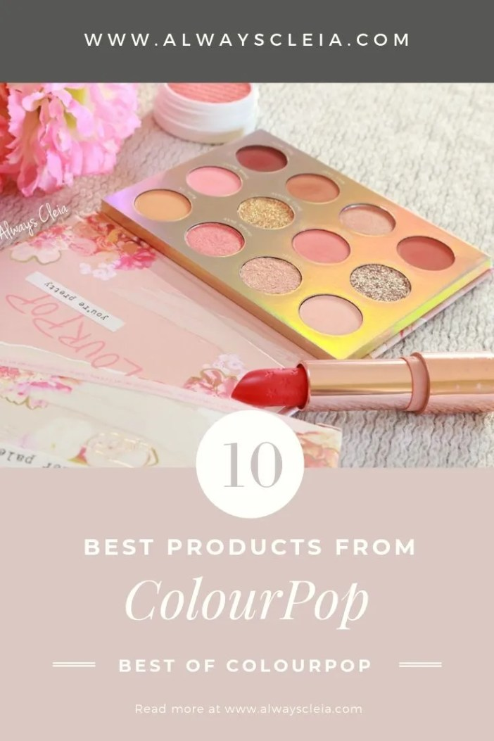 Best of ColourPop Cosmetics 2019