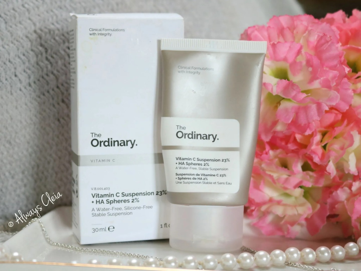 The Ordinary Vitamin C with HA Spheres