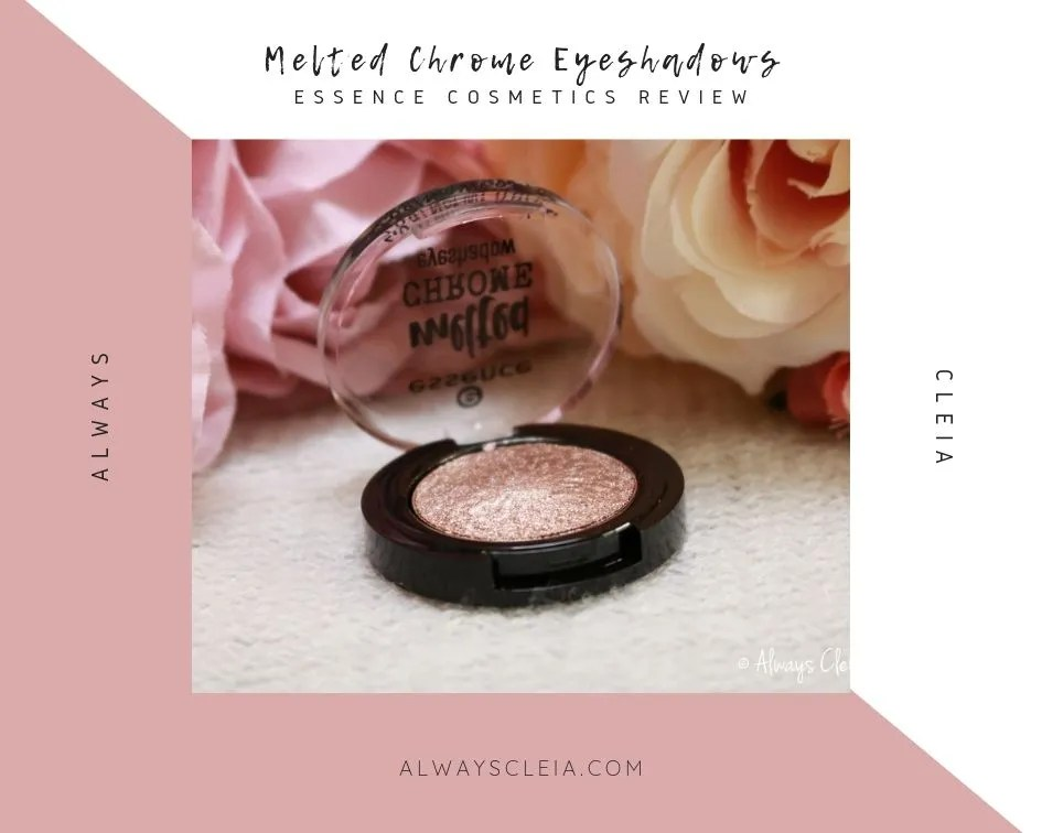 Essence Cosmetics Melted Chrome Eyeshadow Review