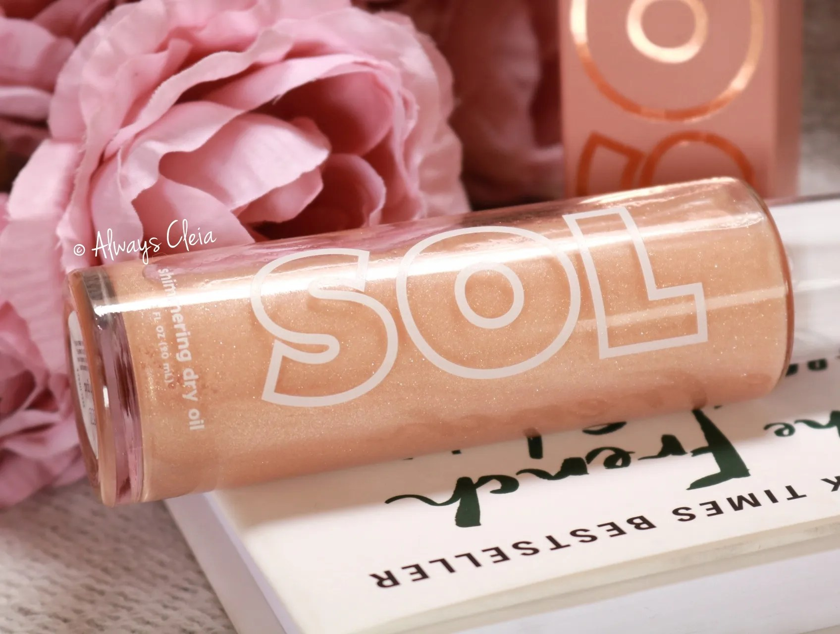 SOL Body Shimmering Dry Oil Review