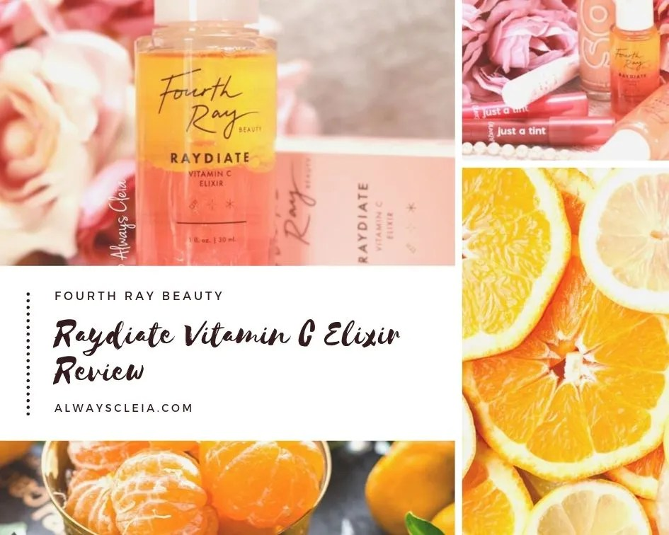 Fourth Ray Beauty Raydiate Vitamin C Elixir Review