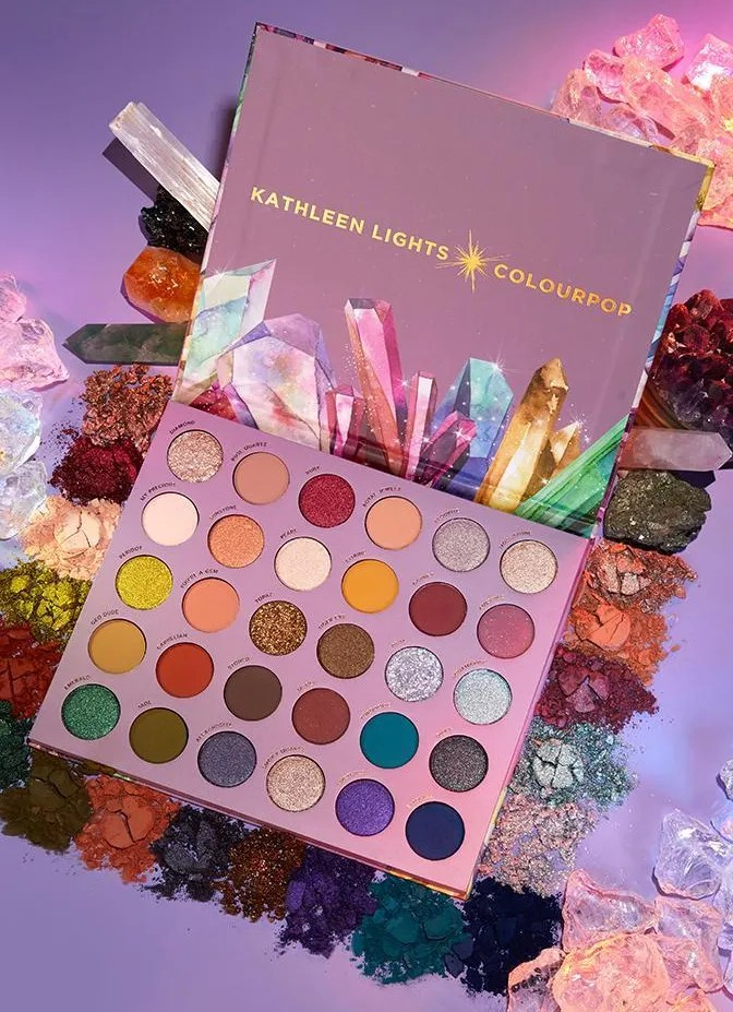 ColourPop So Jaded Palette Kathleen Lights