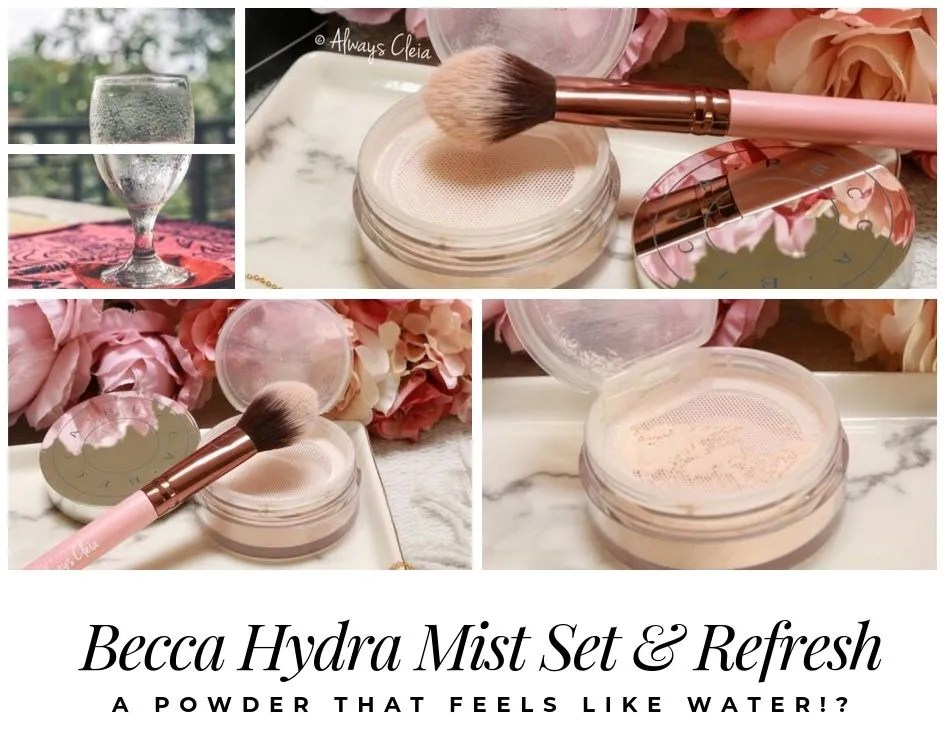Becca Hydra Mist Set & Refresh Setting Powder