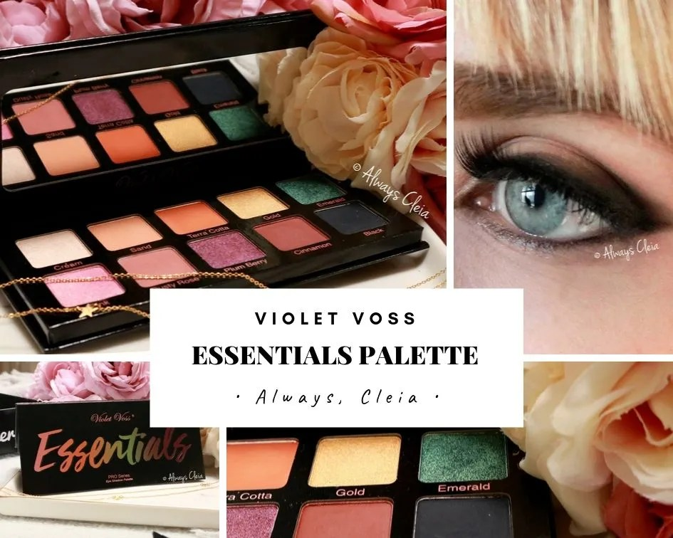 Violet Voss Essentials Palette Review + 3 Looks
