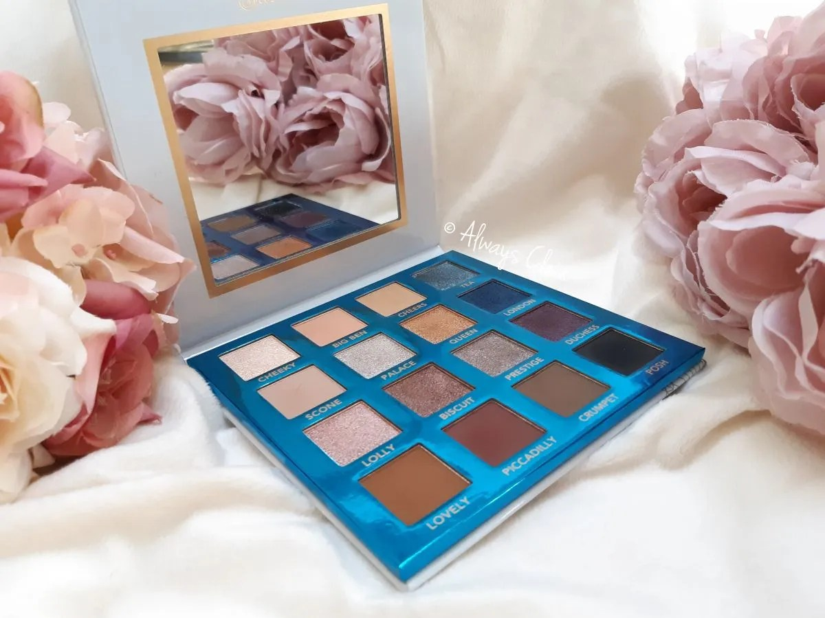 Love In London Cool Toned Eyeshadow Palette BH Cosmetics