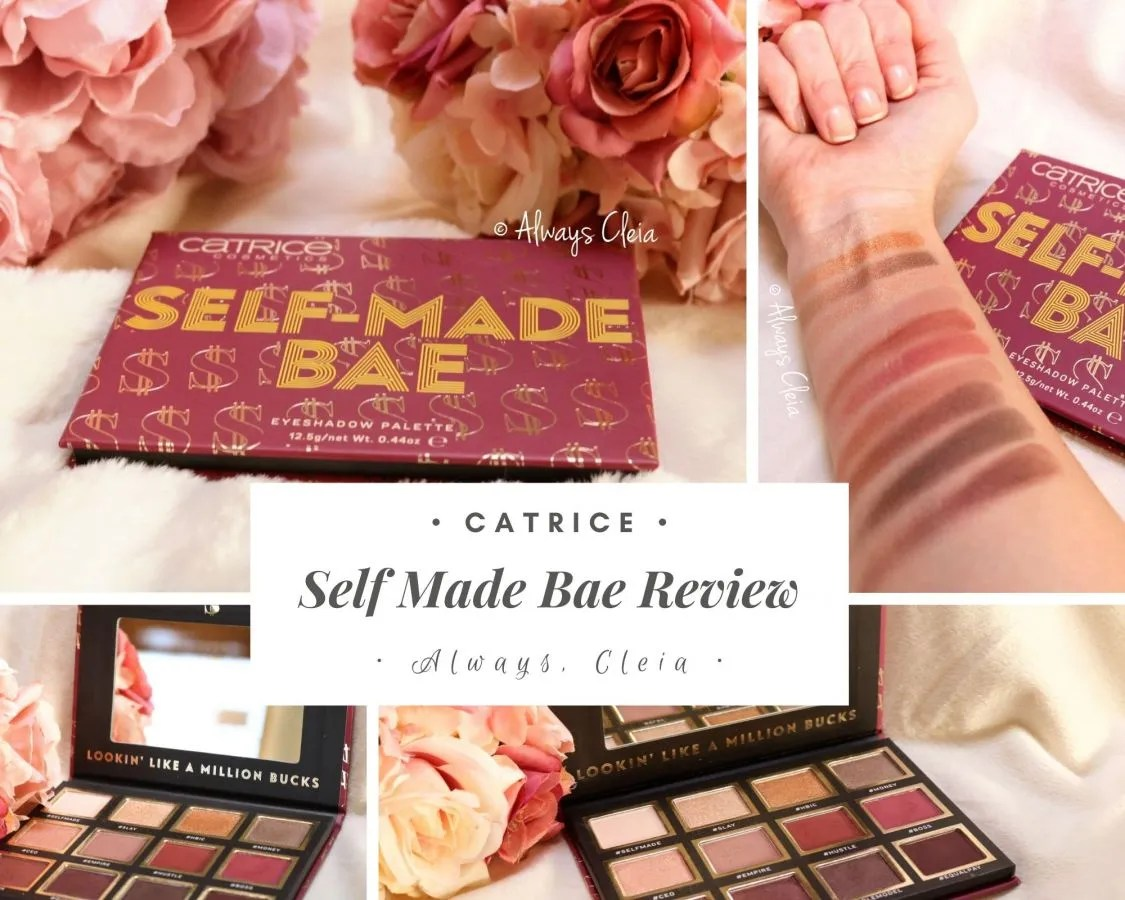 Catrice Self Made Bae Eyeshadow Palette Review