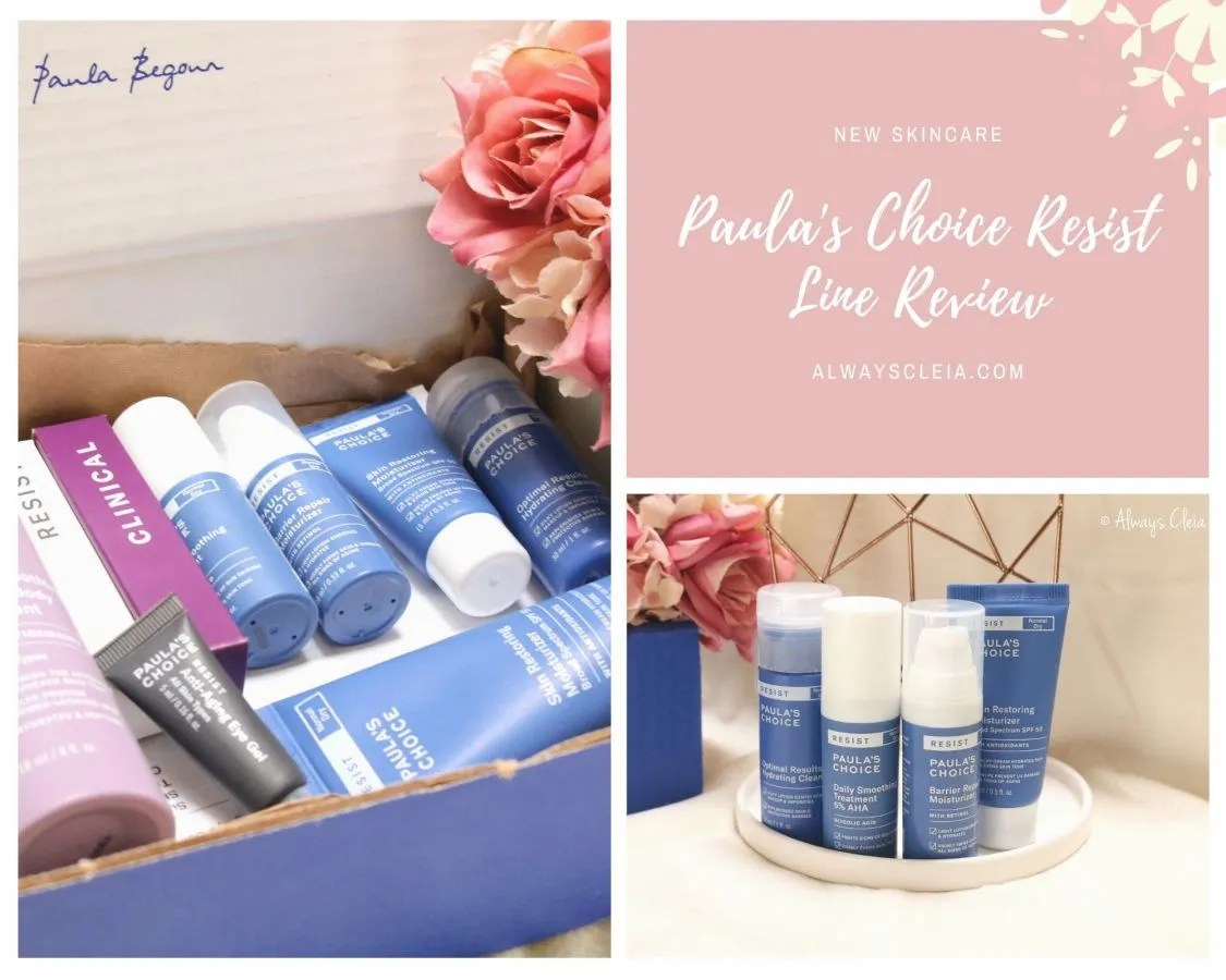 Paula's Choice RESIST Line Review