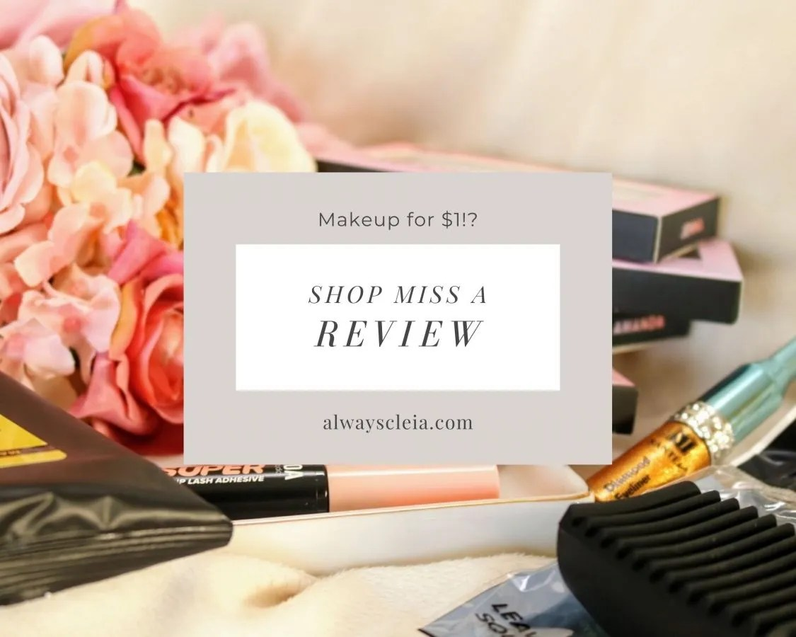 Shop Miss A | Can you really get quality makeup for $1?