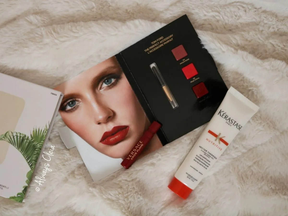 Kerastase Nectar Thermique & Tom Ford Lipstick book