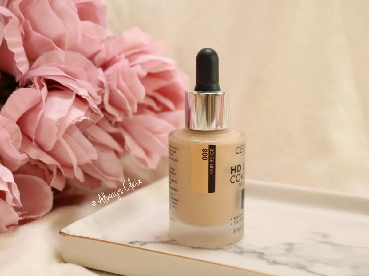 Catrice HD Liquid Coverage Foundation Review