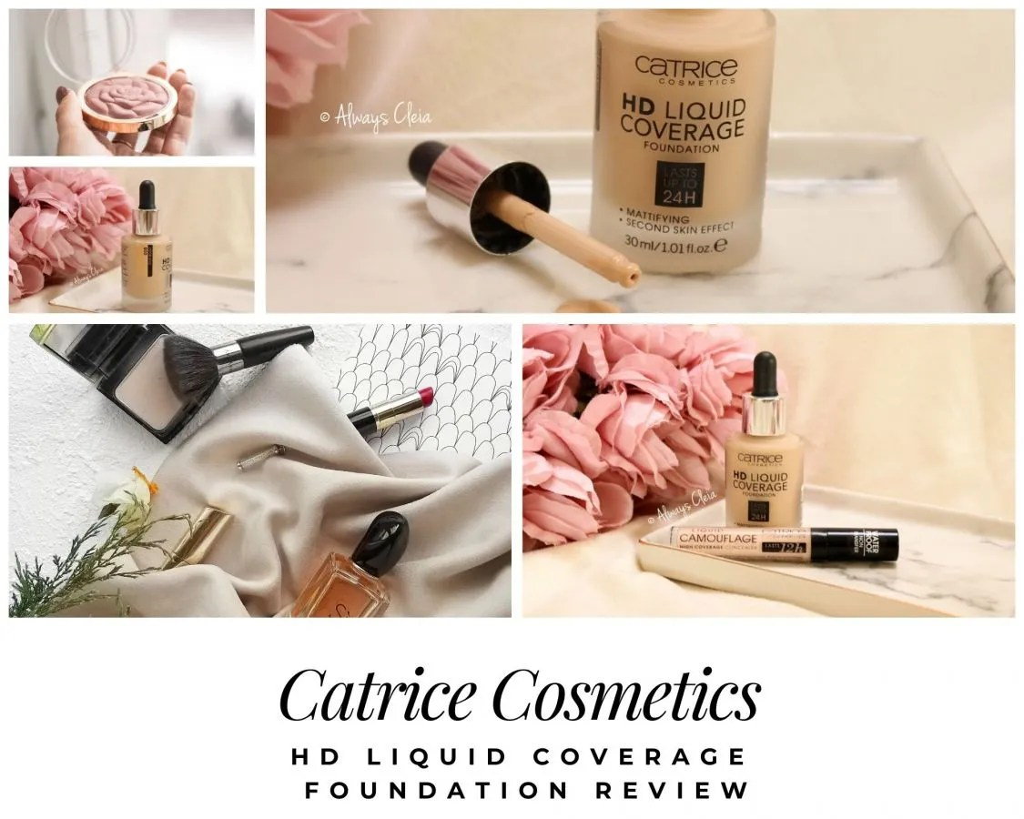 Catrice HD Liquid Coverage Foundation Review | My new HG?
