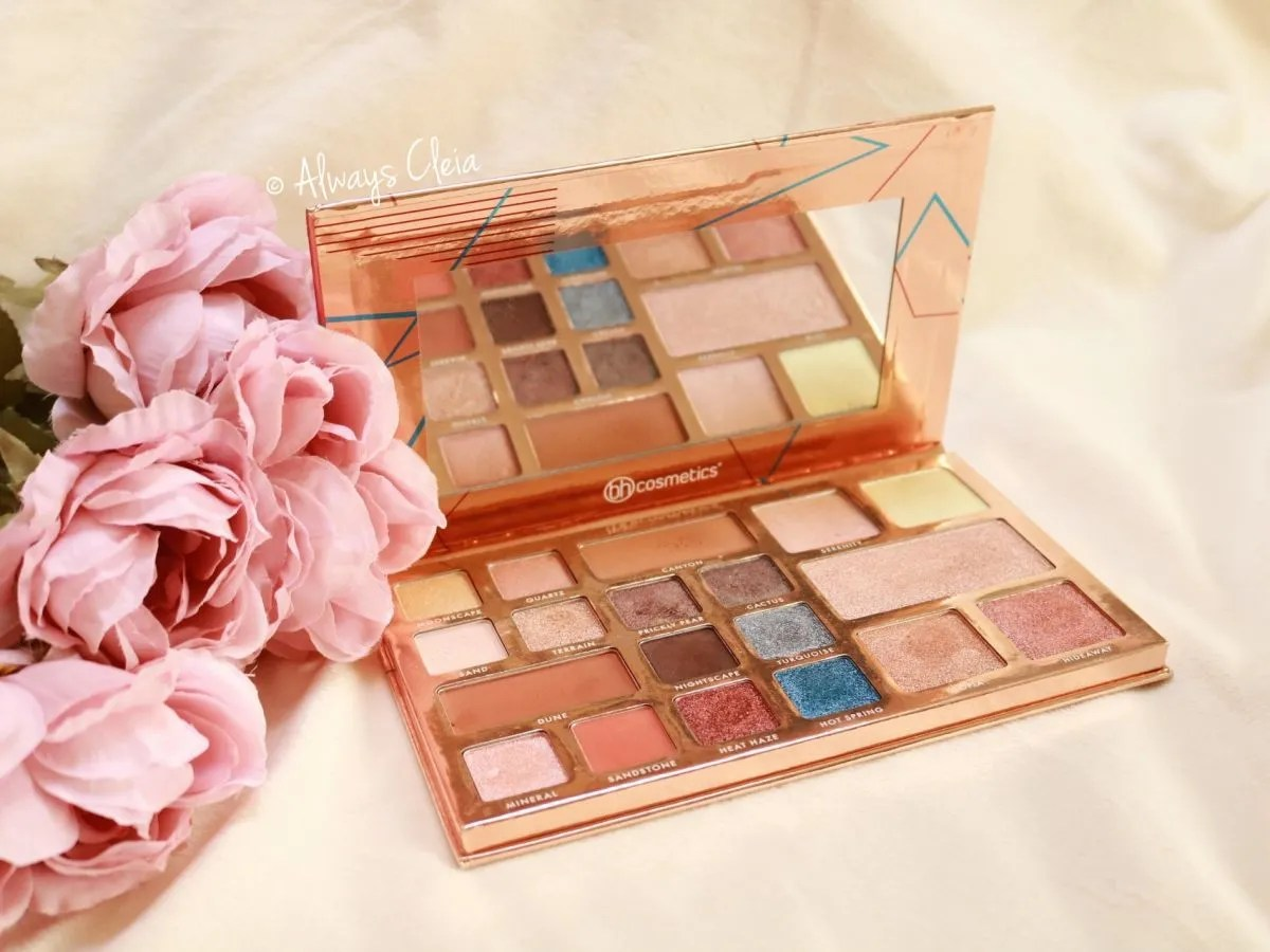 BH Cosmetics Desert Oasis Palette Review