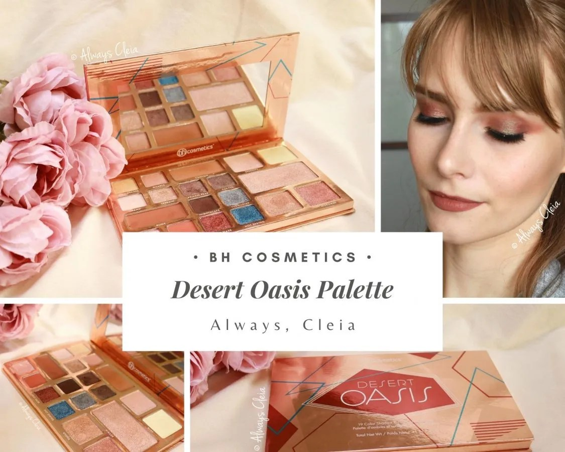 BH Cosmetics Desert Oasis Palette Review + 2 looks