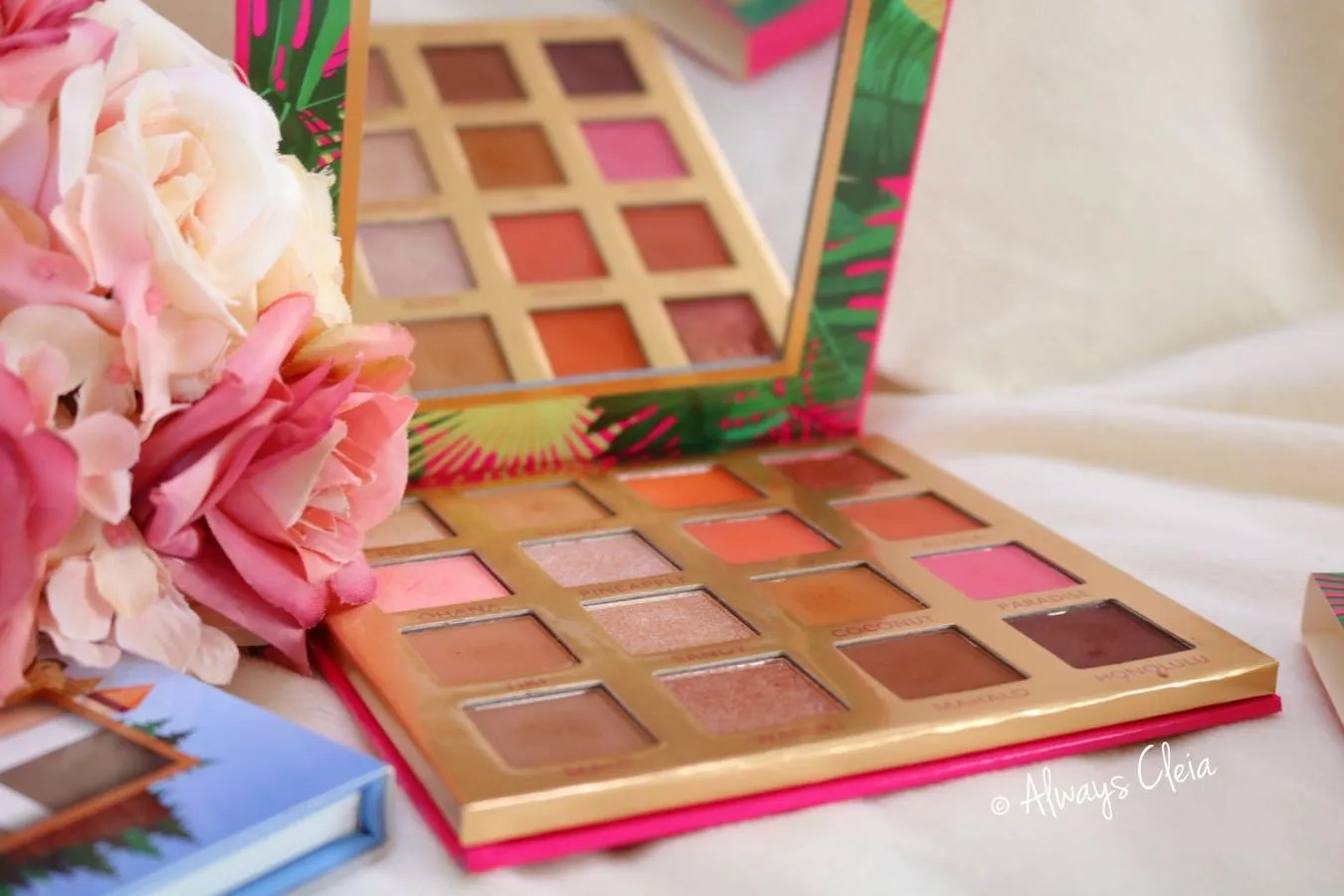 Bh Cosmetics Hanging in Hawaii Palette Review