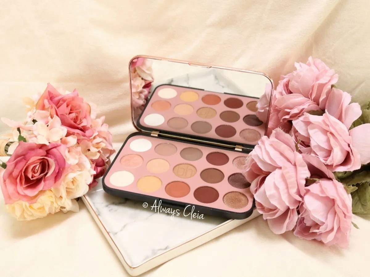 BH Cosmetics Glam Reflection Rosé Palette Review + 3 Looks