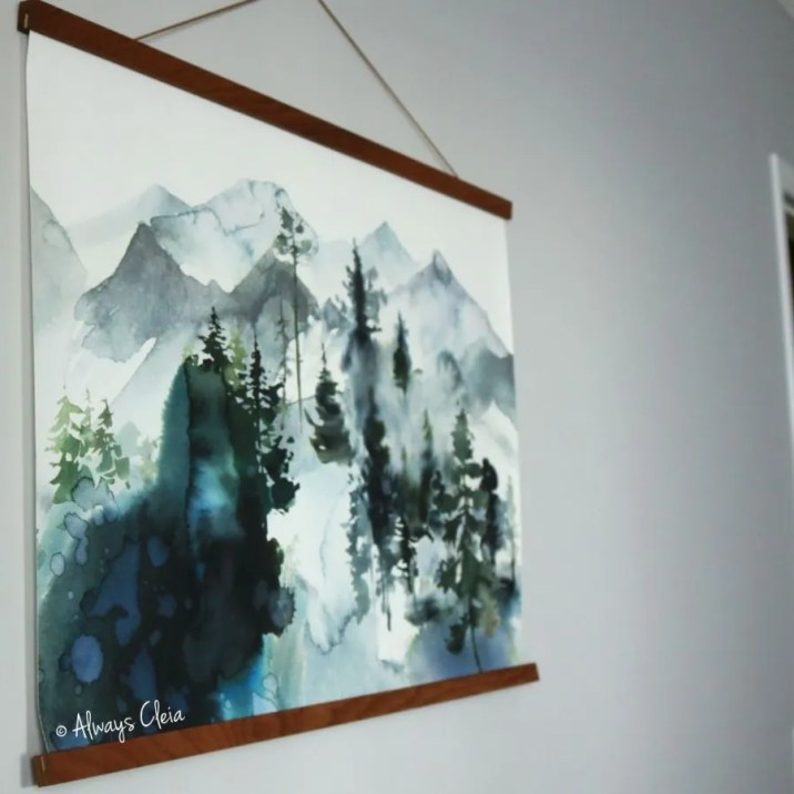 Photowall Watercolor Landscape Poster