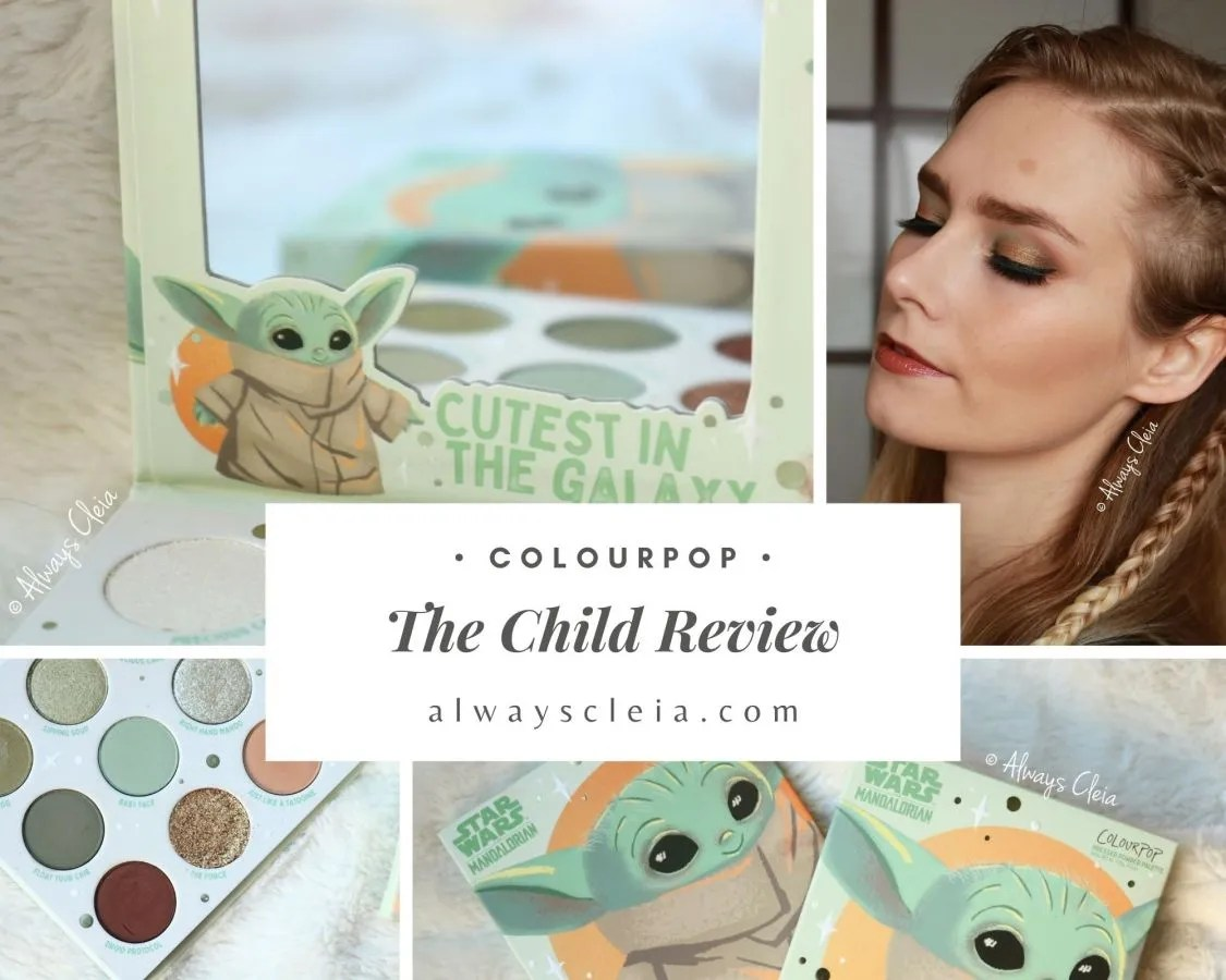 ColourPop The Child Palette Review + Swatches + 3 Looks