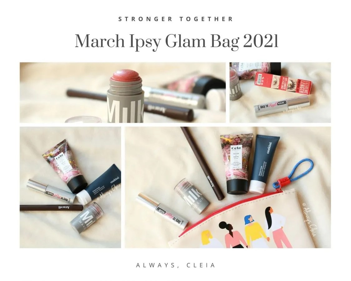 March Ipsy Glam Bag Review 2021