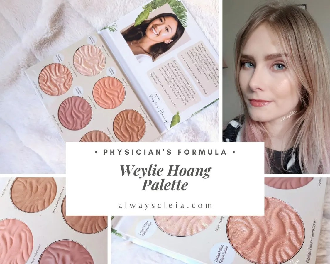 Physician's Formula Weylie Hoang Face Palette Review