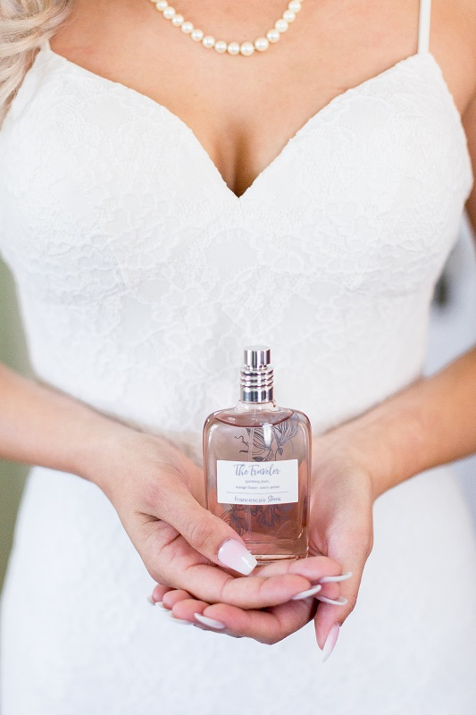 Wedding Day Perfume Bottle Shot