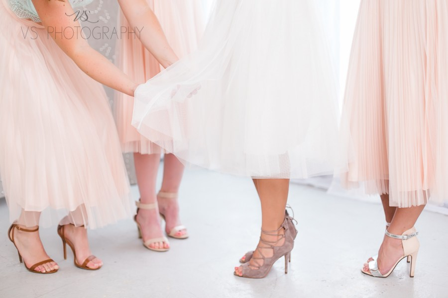 A|E Bridal offers Wedding Day Styling Service