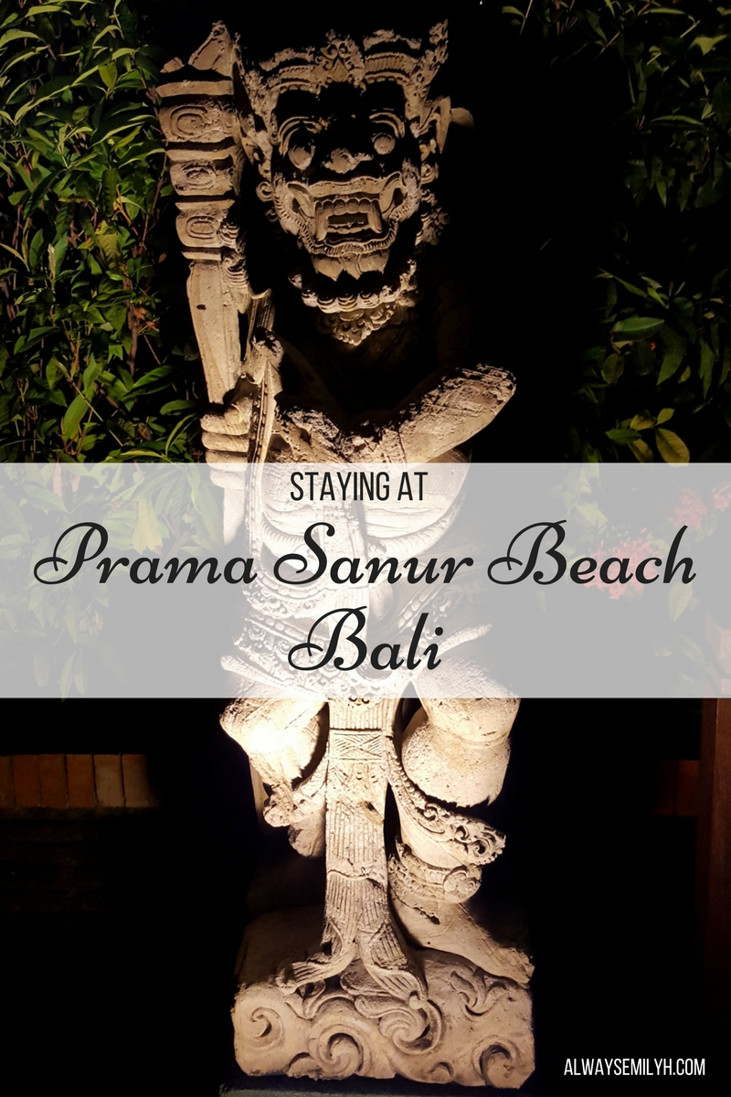 Staying at Prama Sanur Beach Bali