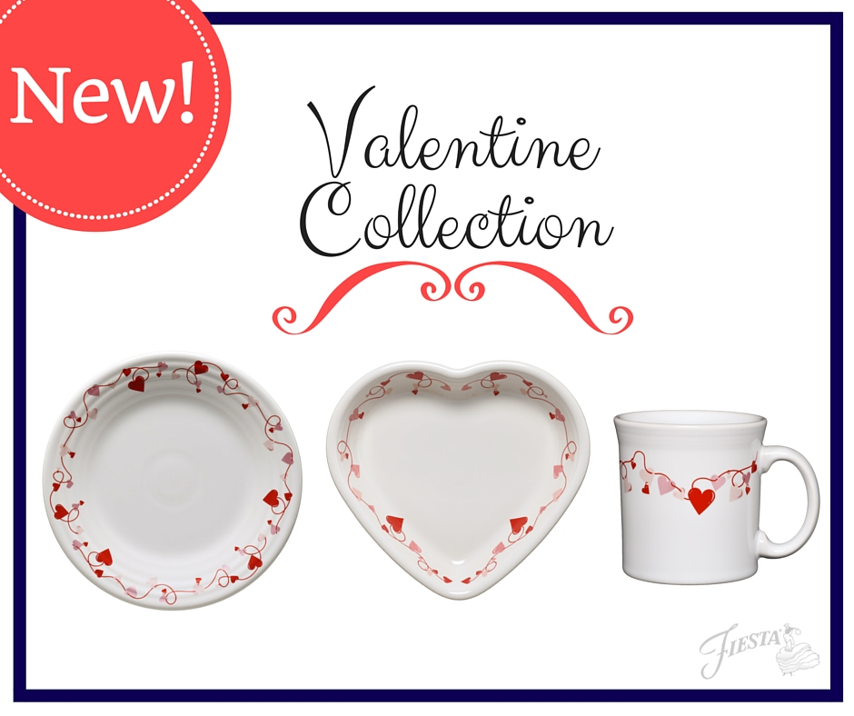 New Pet And Valentine Collections Fiesta Dinnerware