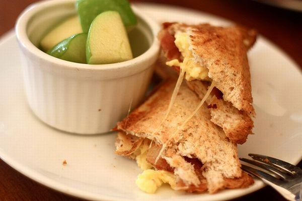 Egg toasties