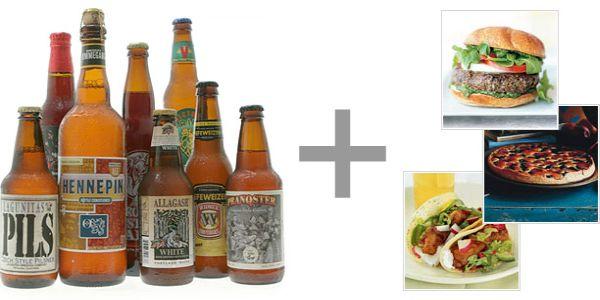 Pairing food and beer