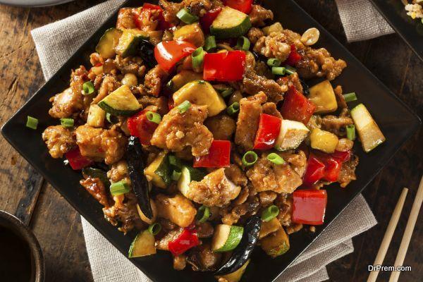 Homemade Kung Pao Chicken