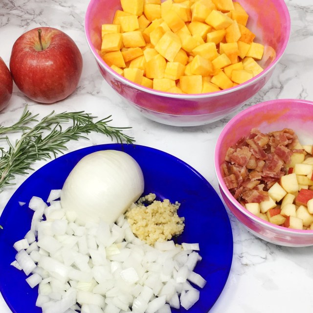 Apple Bacon Butternut Squash Hash 01