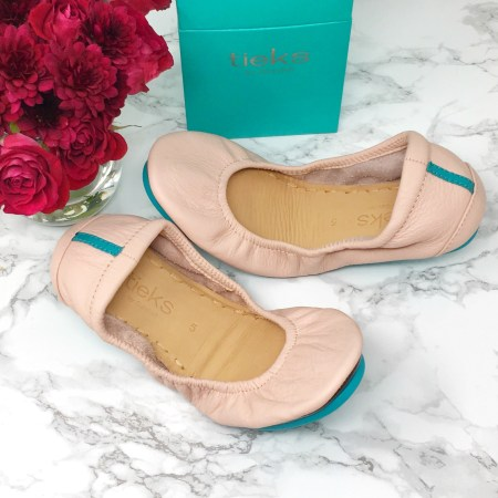 blush Tieks shoes review