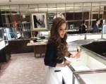 Champagne at Tiffany's