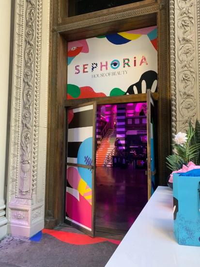 Sephoria Event Entrance