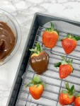 Dairy Free Chocolate Covered Strawberries