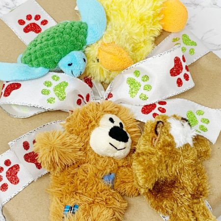 gift guide for dogs kong extra small animals - bear, duck, and turtle
