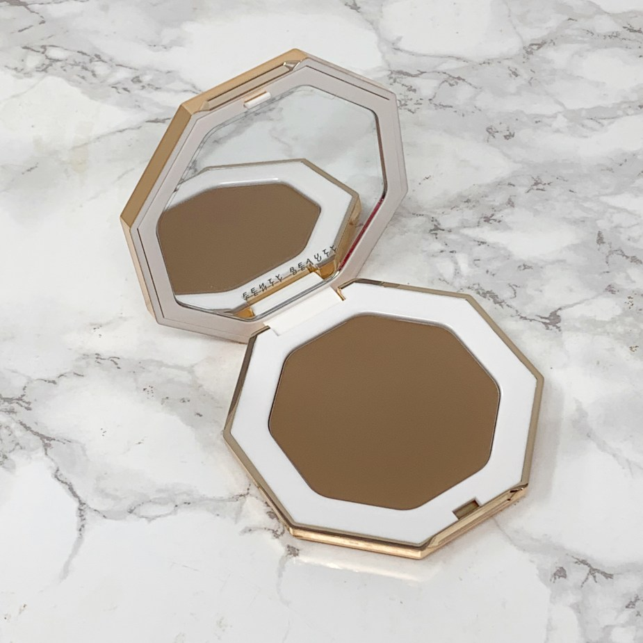 Fenty Beauty Cheeks Out Freestyle Cream Bronzer Review - Amber