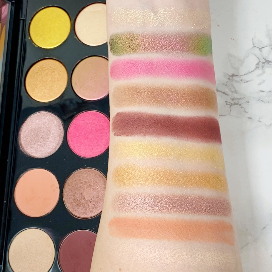 Pat McGrath Labs Divine Rose II review and swatches